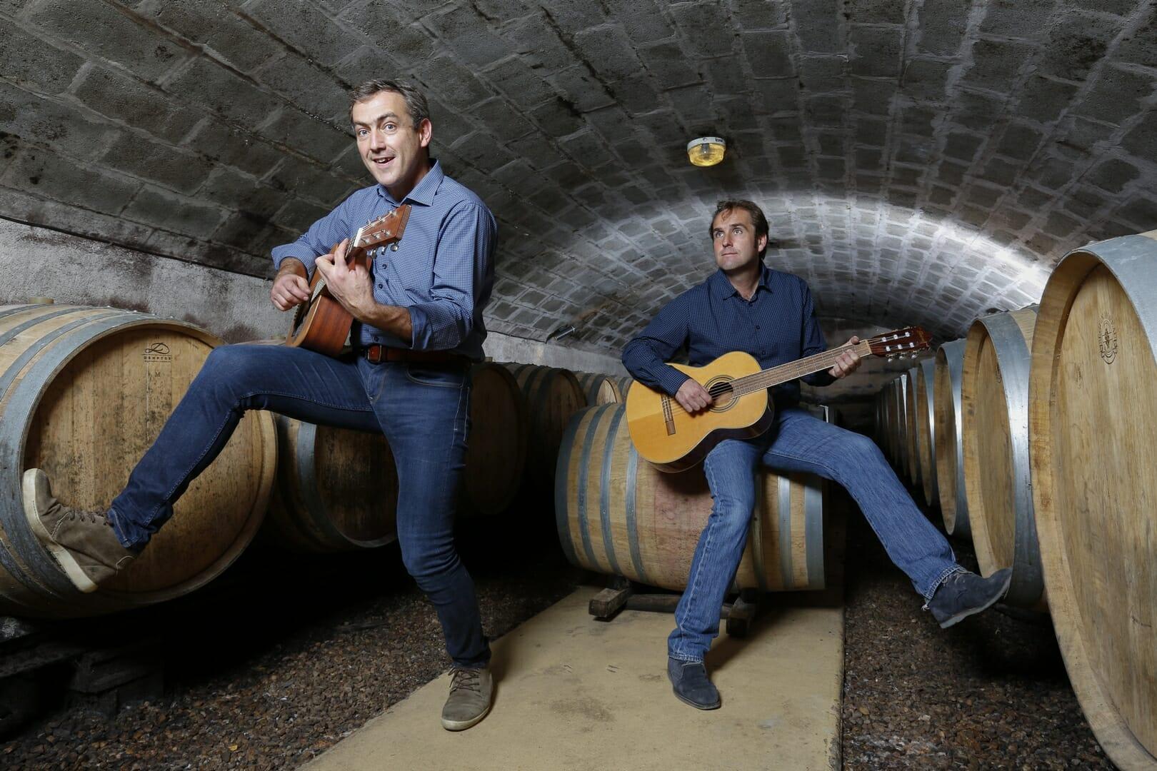 Frères JAMET Visite en cave Domaine des Vallettes Saint Nicolas de Bourgueil