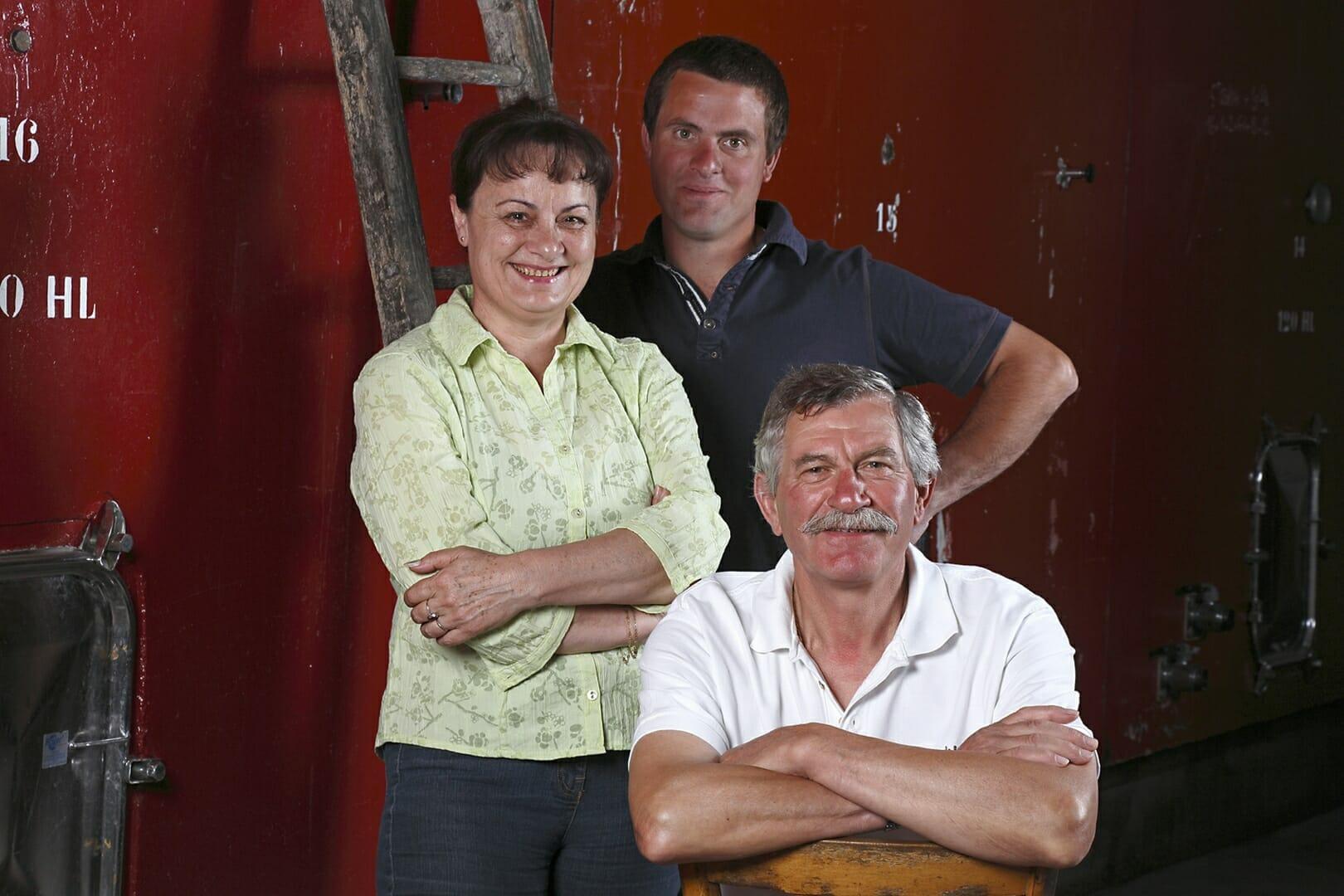 Domaine BRUNEAU Yvan Ghislaine et Damien Saint Nicolas de Bourgueil